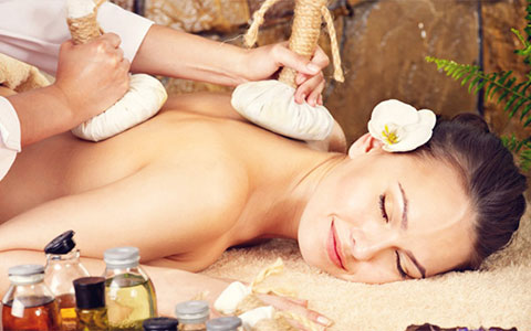 masaje con pindas