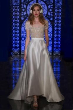 vestido de novia para mujeres delgadas