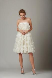 vestido de novia para mujeres bajitas