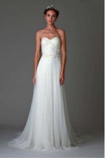 vestido de novia look natural