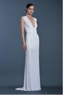 vestido de novia entallado look seductor