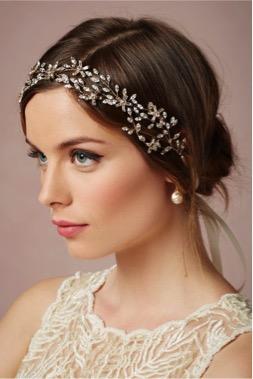 tocados y accesorios de novia para rostro ovalado o redondo