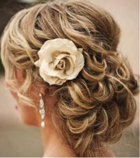 peinado sy tocados de novia para rostro rectangular