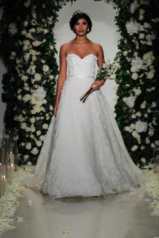 vestido de novia corte imperial